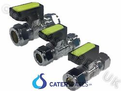 Catering Mobile Trailer Mini Gas Lever Isolation Ball Valve Cock 8mm 10mm 15mm