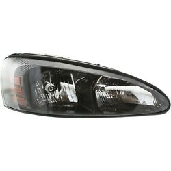 Headlight For 2004-2008 Pontiac Grand Prix Right Clear Lens With Bulb