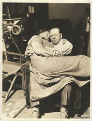 Marie Dressler And Wallace Beery Bts 10 X 13 1933 Photo Tugboat Annie
