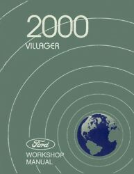 2000 Mercury Villager Shop Service Repair Manual Book Engine Drivetrain Wiring