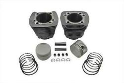 Replica 1200cc Cylinder And Piston Kit Silver For Harley-davidson