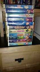 Disney Black Diamond Collection Of 11 Vhs Tapes, Sold As A Lot Or Separately