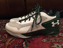 BRAND NEW!! Under Armour UA Clutchfit Drive 2 Low Green White Men's 14 NEW