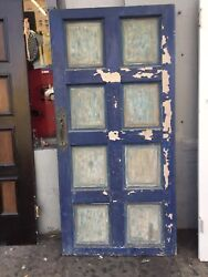 Front Door Spanish Style With Hardware Old 1920's 72-1-2 X 35