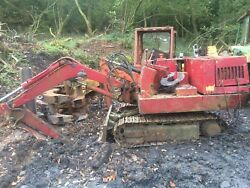 Nissan N21ss Mini Digger Excavator Dismantling For Parts Dipper Ram Only