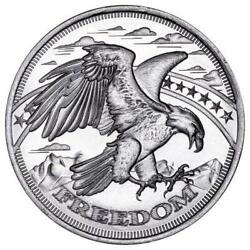 1 Oz Silver Freedom Rounds | Mint Sealed Tube Of 20
