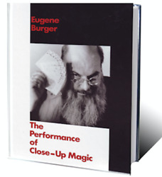 Performance Of Close-up Magic By Eugene Burger From Murphy's Magic - Book