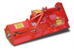 Mist132 - Italian Flail Mower - 1.32m Wide - For Compact Tractors