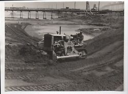 Large Pre 1939 Ggie World's Fair Photo Of Ground Construction And Grading 10