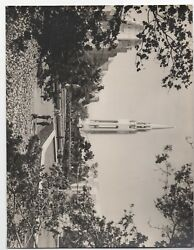 Large 1939 Ggie World's Fair Photo Of Tower And Grounds 7