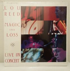 Laserdisc Lou Reed Magic And Loss Live In Concert 1992 London Color 90 Minutes