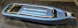 Vintage Bicycle Luggage Rack Carrier Blue Mouse Trap Style 17.5