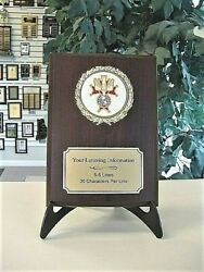 4th Degree Knights Of Columbus Plaque Award Trophy Free Engraving High Quality
