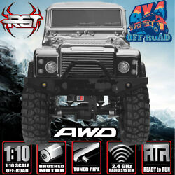 RGT Electric Rc Car 110 Scale 4wd Off Road Monster Truck Rock Crawler RTR Model