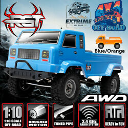 RGT Electric Rc Car 110 Scale 4wd Off Road Monster Truck Climbing Rock Crawler