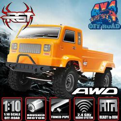 RGT Electric Rc Car 110 Scale 4wd Monster Truck Climbing Off Road Rock Crawler