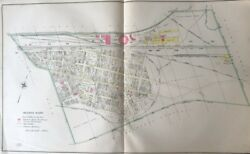 Orig 1904 East End Wilkes-barre Pa Lehigh Valley R.r. Co. Round House Atlas Map