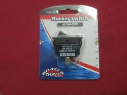 Boaters Sports Rocker Panel Switch Mom-off P 51342
