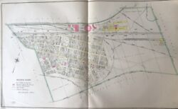 1904 East End Wilkes-barre Pa Lehigh Valley R.r. Co. Roundhouse Copy Atlas Map
