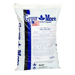 Grow More Cold Water 30-10-10 Soluble Concentrated Plant Fertilizer, 25 Pounds