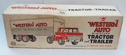 Marx Western Auto Delivery Truck Pressed Steel Misb 3639 Rare
