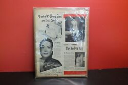 Lux Soap Joan Crawford Country Gentleman Magazine 1949 Advertisement Vintage Ads