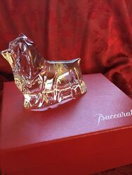 MIB FLAWLESS Exceptional BACCARAT Crystal SCOTTIE TERRIER YORKSHIRE YORKIE DOG
