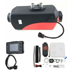 Air diesel Fuel Heater LCD Monitor Remote Control Wireless 12V 5000W for Truck