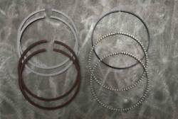 Hastings +.010 Piston Ring Set W/ 3-7/16 Bore For All Flh 74 1200cc 1948-1964