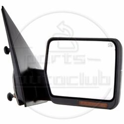 Passenger Side Mirror For 04-06 Ford F150 Pickup Towing Power Heated Turn Signal