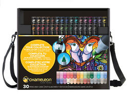 NEW Chameleon Color Tones Markers Completer Set of 30 Markers CT3001