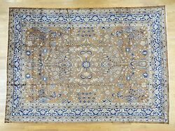 9'9x13'3 Hand-knotted Antique Farsian Saroogh Exc Cond Oriental Rug R33584