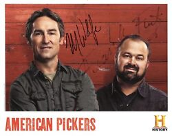 Mike Wolfe+frank Fritz Autographed 8x10 Color Photo     American Pickers