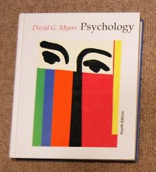 Psychology By David G. Myers 4th Edition High School College