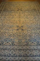 9'x13' 1890 Handmade Knotted Genuine Antique Rug - Free Shipping