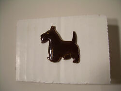 Scottish Terrier Vintage pin from the 80's