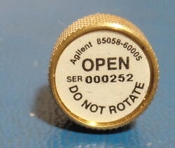 Agilent/keysight 85058-60005 1.85 Mm Male Open Dc To 67ghz For/85058b/85058e