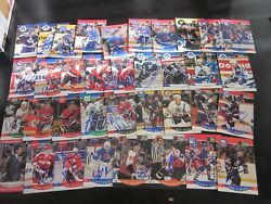 Lot Of 278 Autographed 1990 Pro Set Hockey Cards All Different -no Doubles