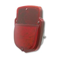53 54 55 56 Ford Pickup Truck F-series Led Red Tail License Light Black Assembly