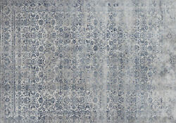 12and039x15and039 Loloi Rug Patina Polypropylene   Polyester Sky Stone Power-loomed Transi