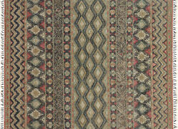7and039x9and039 Loloi Rug Owen Jute | Wool Indigo Sage Hand-made Transitional Ow-03