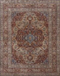 9and039x12and039 Loloi Rug Porcia Polyester Adobe Spice Power-loomed Transitional Pb-07
