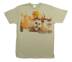Sublime Gradient Beach on Natural Tan T Shirt New Official $21.99
