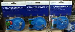3 Pack Mansfield Flappers 3 In. L Rubber Including Water Sense And Older Versions