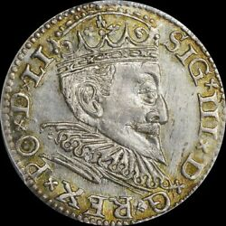 Finest @ Ngc And Pcgs Ms63 Sigismund Iii Riga Poland 3gr Groschen Uber-toned Top