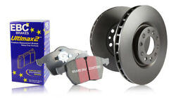 Ebc Front And Rear Brake Discs And Ultimax Pads Mercedes W126 500 Sec 81 85