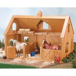 Breyer Deluxe Wood Barn With Cupola - 302 Traditional - 12278