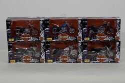 Harley Davidson 118 Scale Model Motorcycle Complete Collection