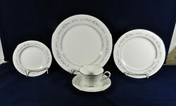 66-pieces Or Less Of Noritake 7548 Heather Pattern Fine Japanese China