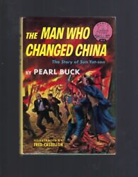 Signed By Pearl Buck The Man Who Changed China World Landmark 9 Hb/dj Story O..